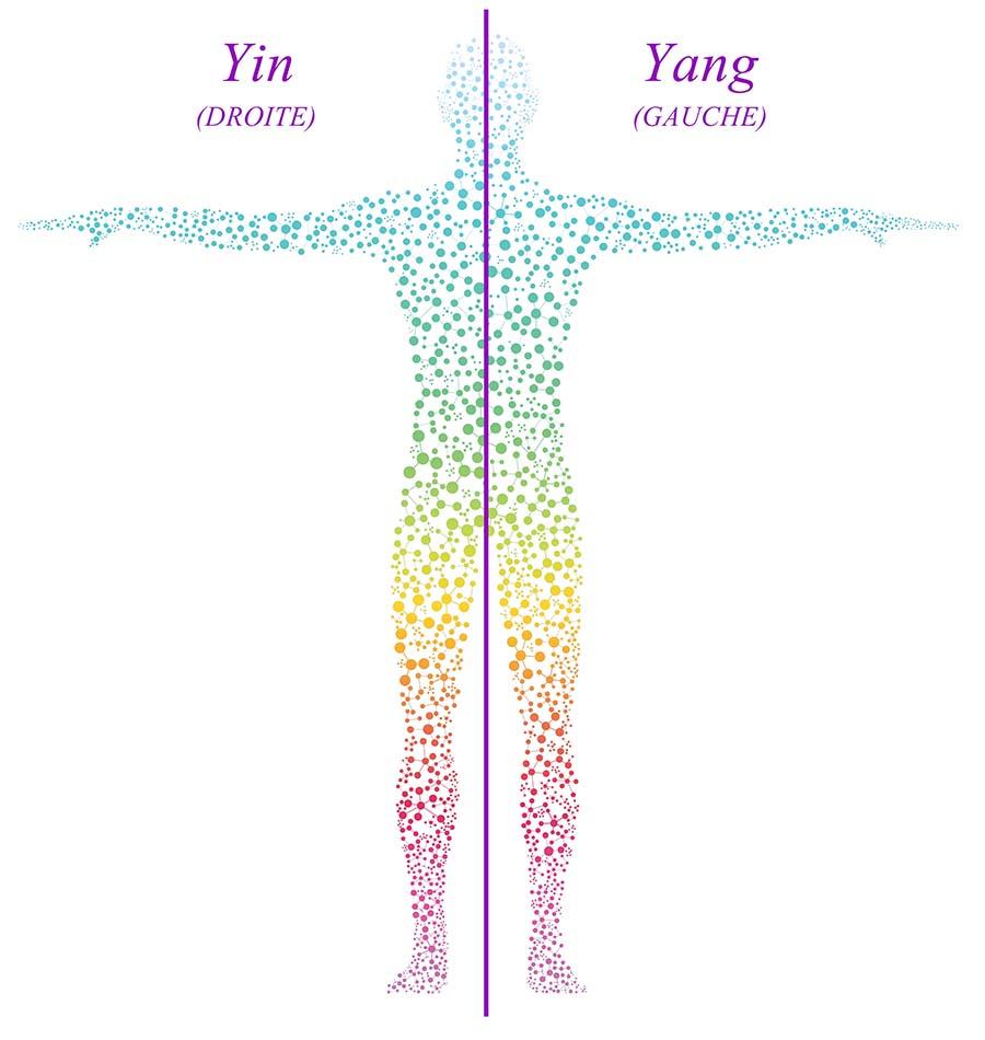 Symbolique douleurs côté gauche ou droit du corps